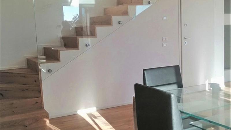 Scala - Parquet in rovere personalizzato: Casa Ilaria - Hausfloor brescia bergamo milano