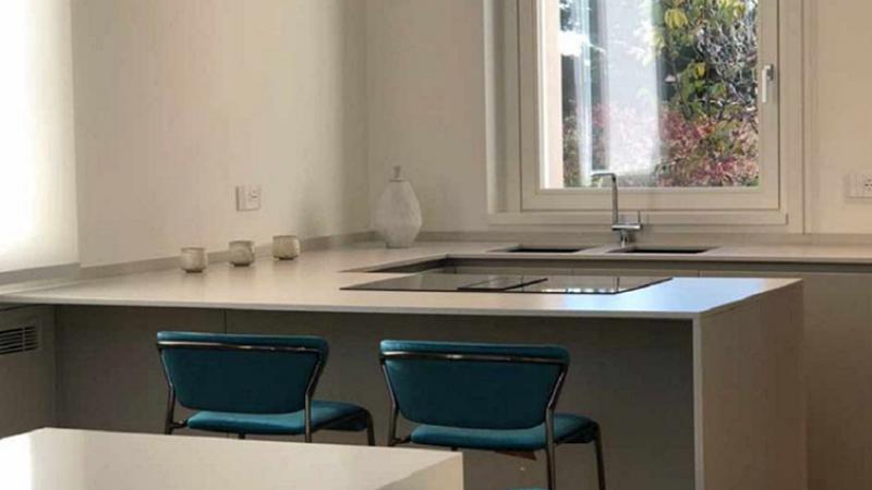Parquet in rovere chiaro: Casa M. L.  - Hausfloor brescia bergamo milano