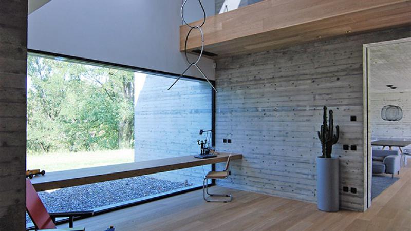 Cucina - Parquet in rovere verniciato : Abitazione P. G. - Hausfloor Brescia Bergamo Milano